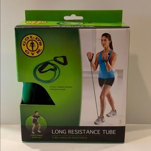 NIB Gold's Gym long resistance exercise tube